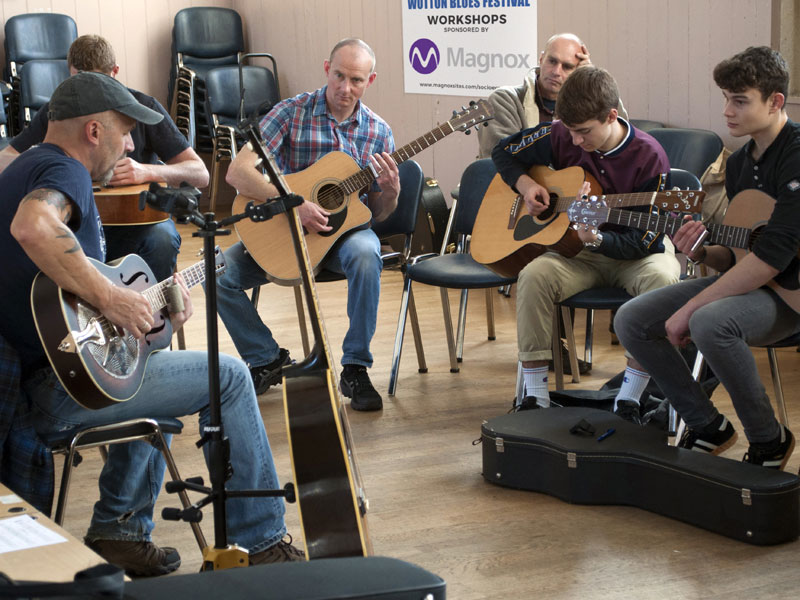 blues workshops and tutorials