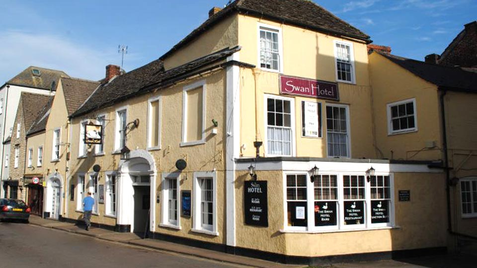 Swan Hotel Wotton-under-Edge festival venues
