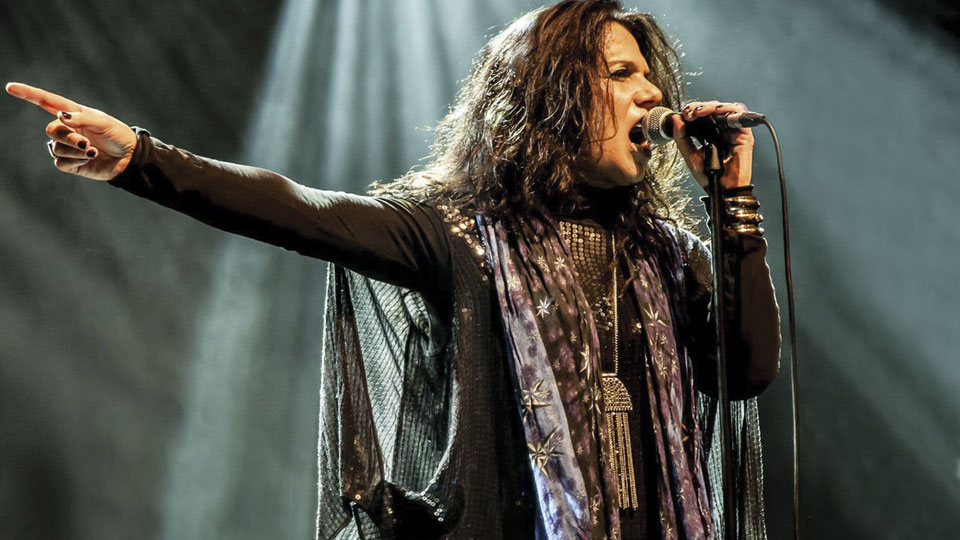 Sari Schorr - our headline act